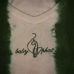 Baby phat shirt top medium
